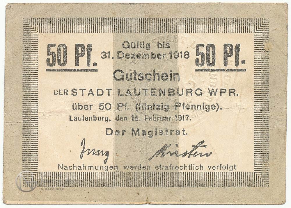 Lidzbarskie banknoty zastępcze