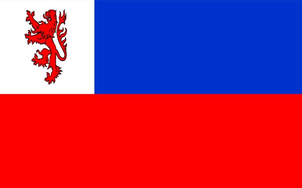 Flaga powiatu działdowskiego